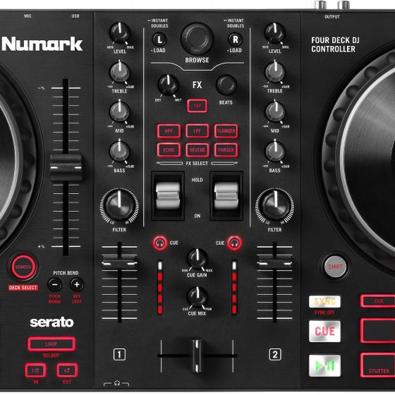 Numark Mixtrack Platinium FX