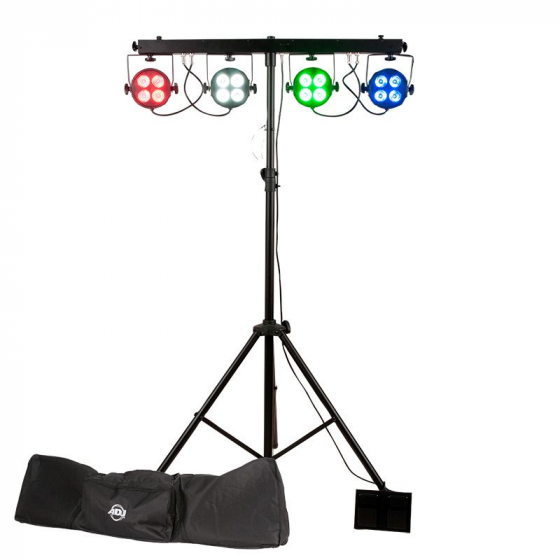 ADJ Starbar Wash Wash Lighting System w/ Stand +Foot Switch+Padded Bag