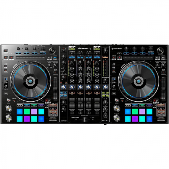 Pioneer DDJ-RZ 4 Channel Software Controller for rekordbox DJ - Black