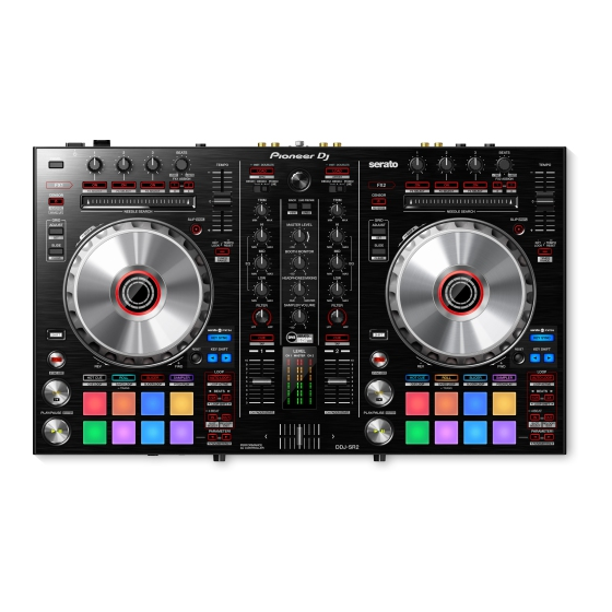 Pioneer DDJ-SR2 2 Channel Software Controller for Serato DJ Software - Black