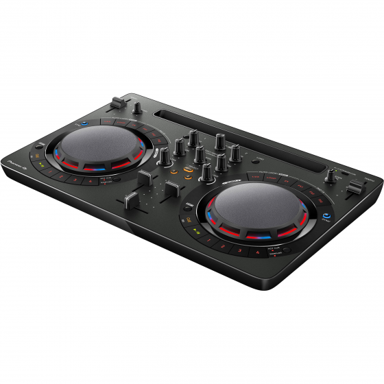 Pioneer DDJ-WEGO4-K Black DJ Software Controller with iOS & Laptop Support