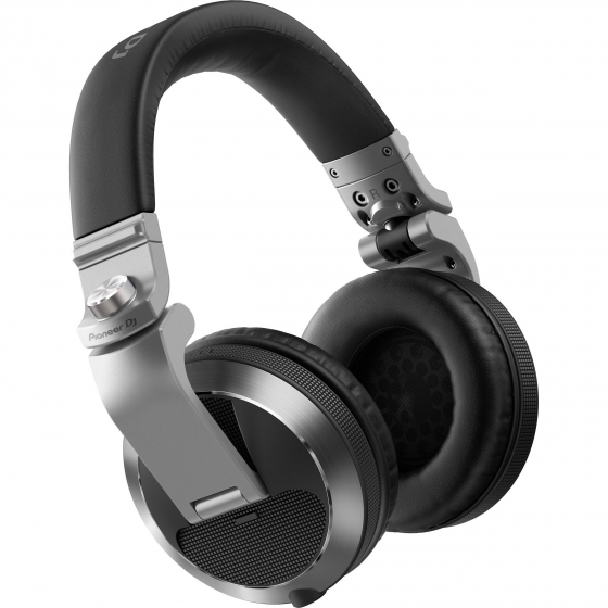 Pioneer HDJ-X7-S Reference DJ Headphones with Detachable Cord - Silver