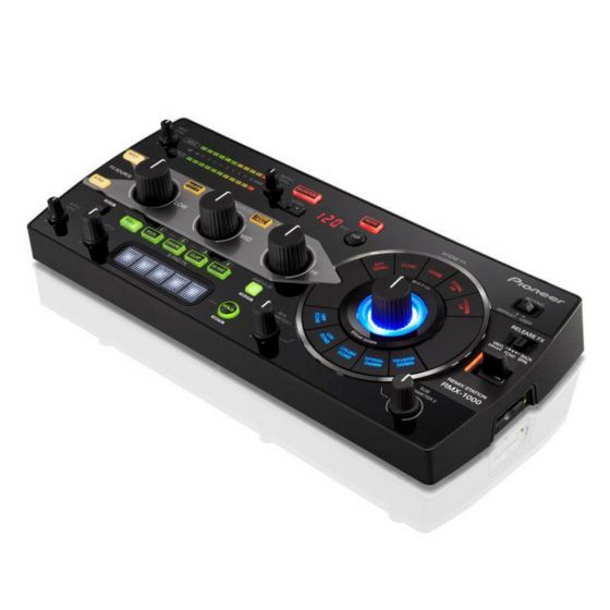 Pioneer RMX-1000-K Remix Station Effects Unit with X-Pad FX - Black