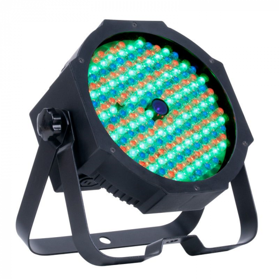 ADJ Mega Go Par64 Plus Battery Powered PAR64 Fixture with 177x10mm RGB + 3W UV