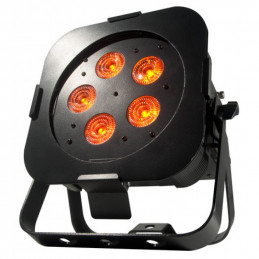 ADJ Wifly Par Qa5 Black RGBA Wash Fixture -Battery Powered w/WiFLY DMX