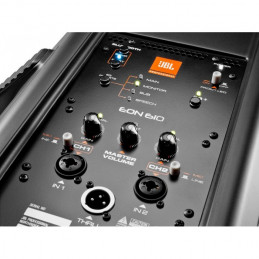 """JBL Professional EON610 10"""" two-way stage monitor or front of house powered speaker system"""