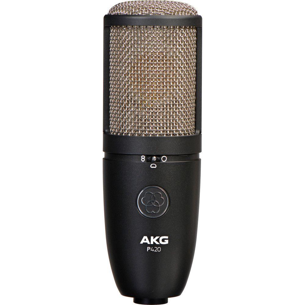 AKG P420-MIC High-performance dual-capsule true condenser microphone