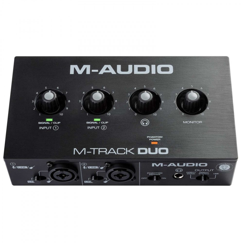 M-Audio M-Track Duo 48-KHz, 2-channel USB Audio Interface