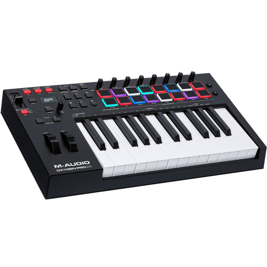 M-Audio Oxygen Pro 25 USB powered MIDI controller