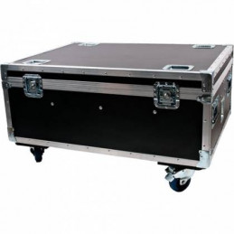 ADJ Wi Flight Case Roadcase for 8 WiFLY Units with 20A IEC Input & Cables