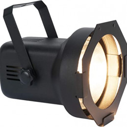 ADJ Par 38bl Black PAR38 Fixture w/Lamp/Gel Frame&Cord Set