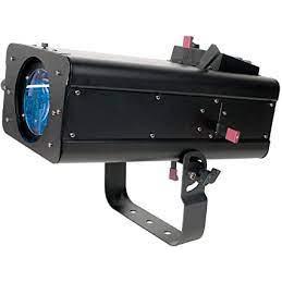 ADJ FS600LED 60W 8 Color LED Followspot with DMX & Dimming