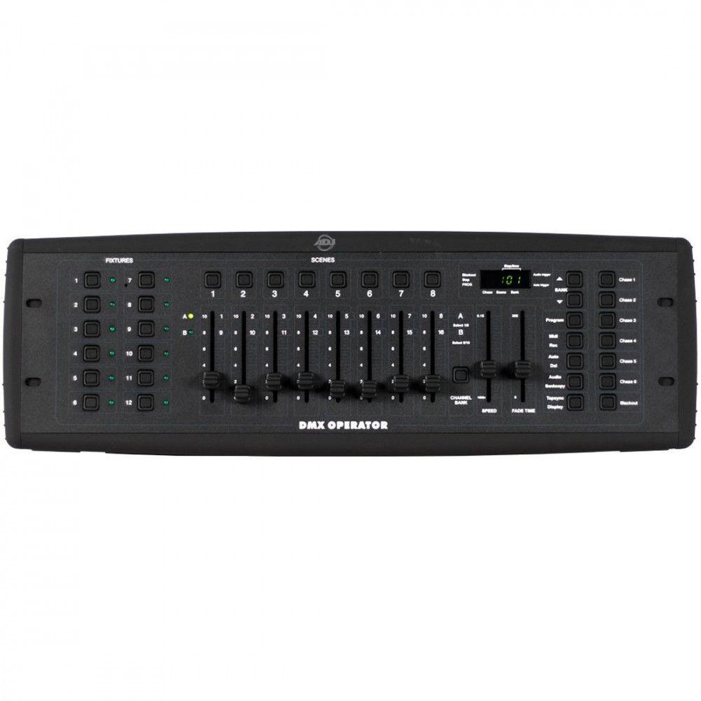 ADJ Dmx Operator 192 Channel Fixture Controller - 12x16 w/30 Banks/240 Scenes