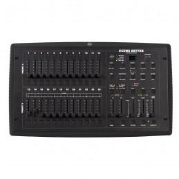 ADJ Scene Setter 24 Channel 4200 Scene Console with MIDI/DMX & Fog Control