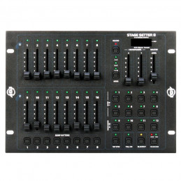 ADJ Stage Setter 8 8 Channel DMX Lighting Console with Presets and MIDI