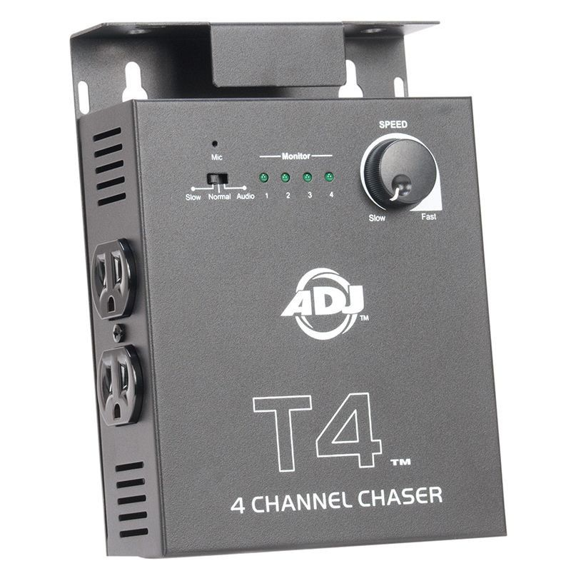 ADJ T4 4 Channel Chase Controller - Sound Activated/Timer