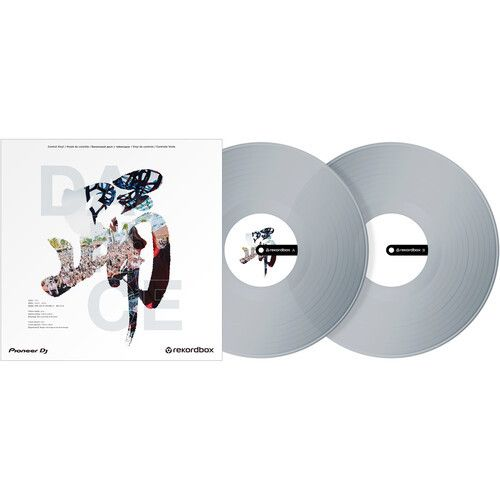 Pioneer RB-VD2-CL (2) Clear Control Vinyl for rekordbox DJ