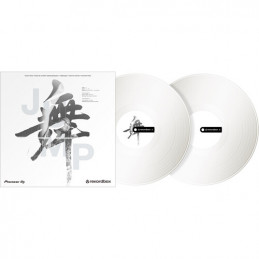 Pioneer RB-VD2-W (2) White Control Vinyl for rekordbox DJ