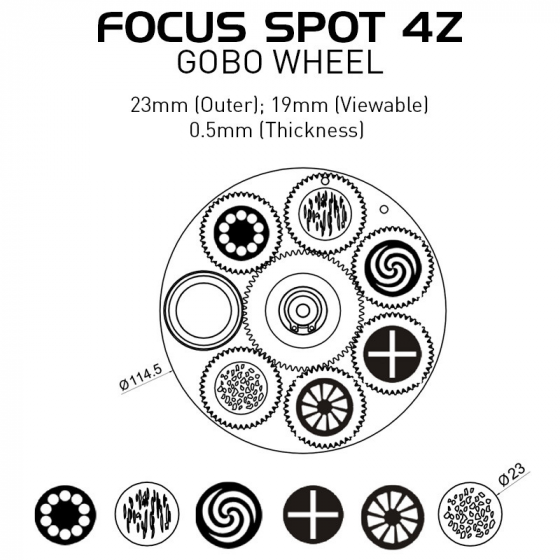 ADJ FOCUS-SPOT-4Z