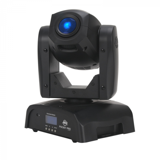 ADJ Pocket Pro Mini Moving Head Fixture with 25W LED Source