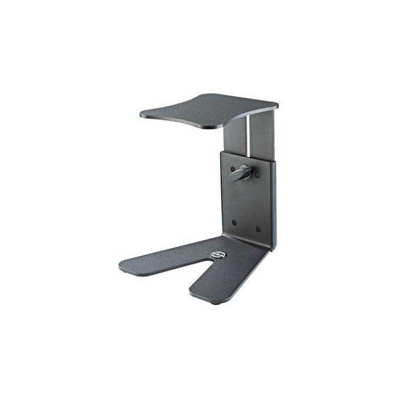 K&M 26772-BLACK Black Table Monitor Stand